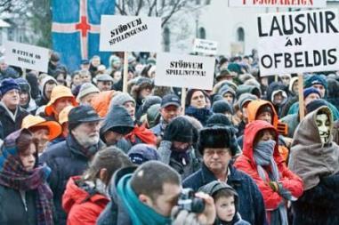 """[Curiosidades] Lo que los medios no dicen de Islandia en la economía y sobre la """"revolución"""". Revolucion_islandia"""