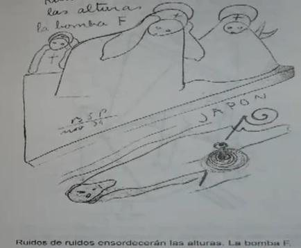 Ruidos de ruidos ensordeceran las alturas, la bomba F Parravicini
