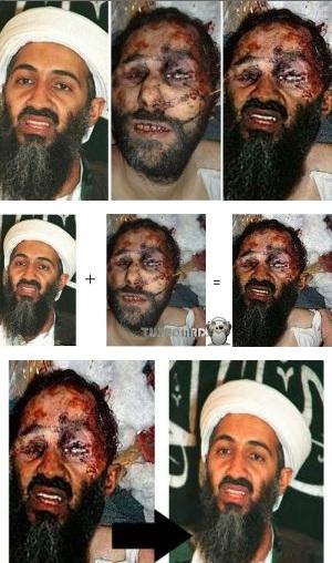 El cadaver de Bin Laden es un montaje. Bin-laden-muerto-2